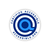 accessible.org certified accessible seal of approval